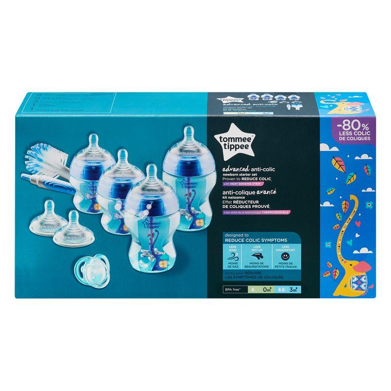 Tommee Tippee advanced anti-colic cumisüveg szett kék