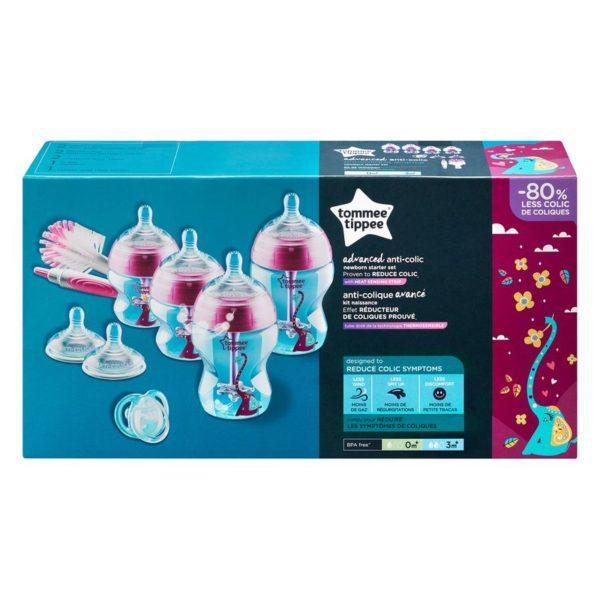 Tommee Tippee Advanced anti-colic cumisüveg szett rózsaszín